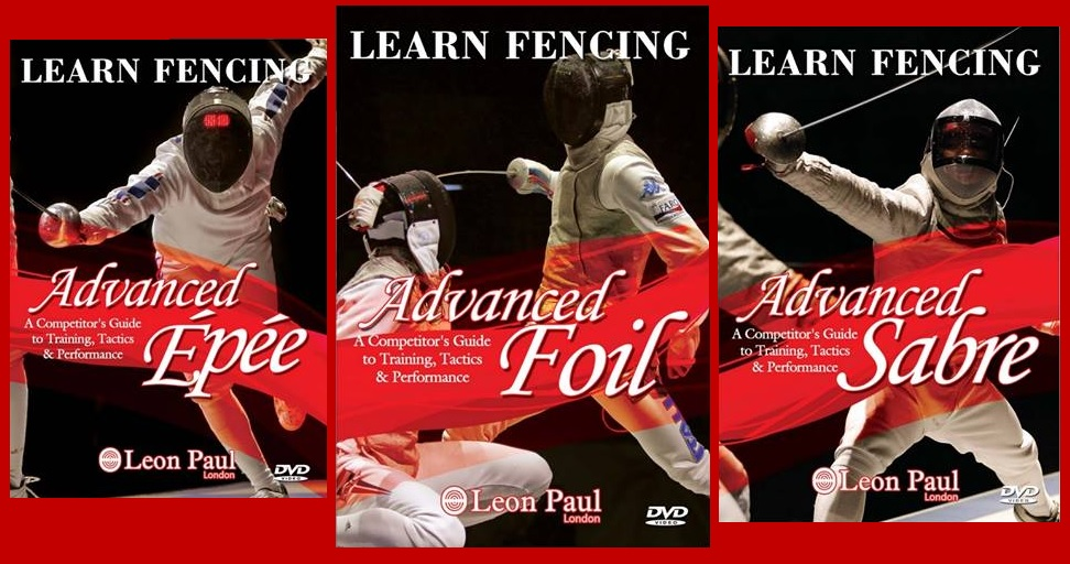 Advanced Fencing DVDs for competitors in foil epee and sabre