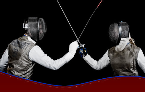 Russell Swords Learn Fencing With Qualified Foil Sabre